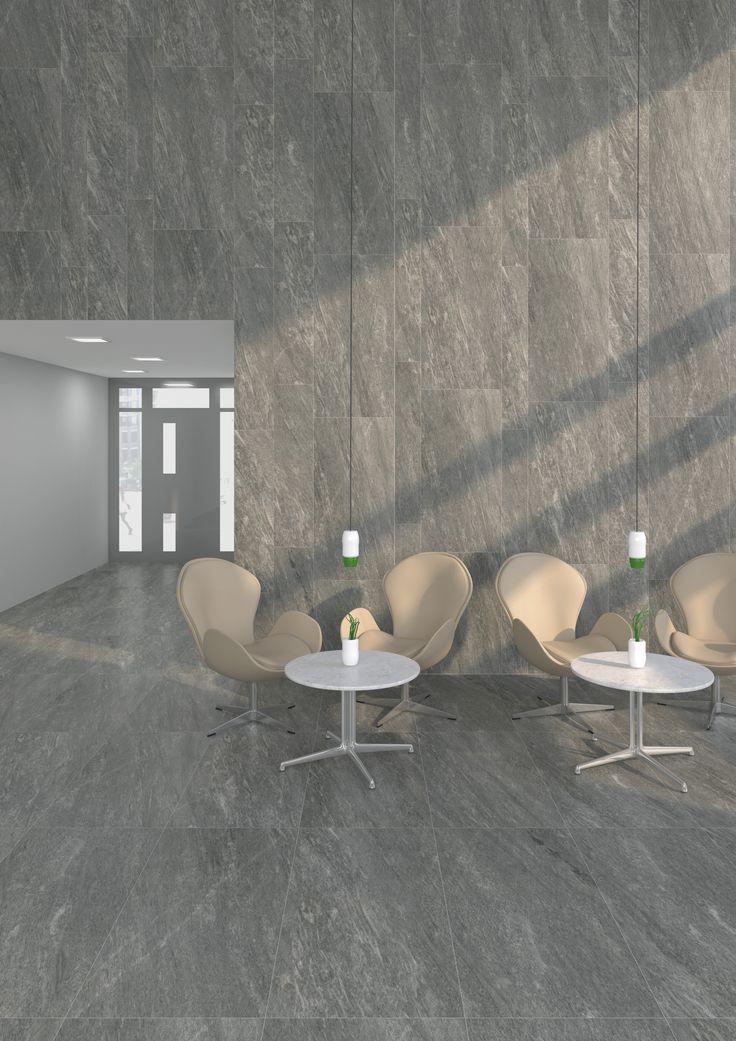 Bolano-R Gris 29,2x119,3 cm. | Arcana Tiles | Arcana ceramica | porcelain tile