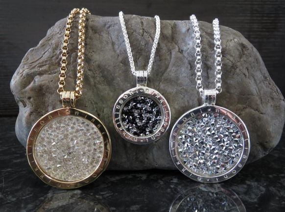 Rojers Jewellery has a stunning collection of Nikki Lissoni Rock Crystal Coins! - xx -