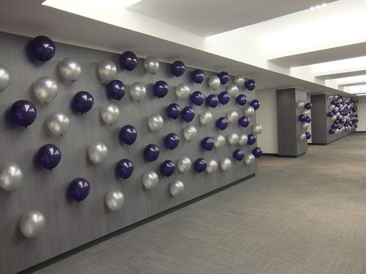 15 best decoraciones con globos magicolores images on - Decoraciones para paredes ...