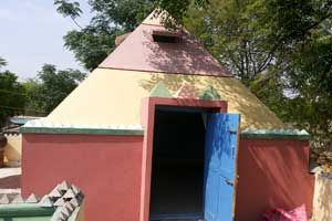 Cosmic Pyramid Meditation Center,year of construction : 2010 size : 12ft x 12ft (land pyramid) | capacity : 15 persons cost incurred :  2 lakhs | type of structure : RCC timing : 8PM-9.30PM, open for public use technical support : Shiva, +91 95738 73958 contact : lokesh Reddy, +91 94900 96595 address : Singamvari Palli village, Malentham (post), Punganuru. http://www.pyramidseverywhere.org/pyramids-directory/pyramids-in-andhra-pradesh/rayalaseema/chittoor-district#chittoor