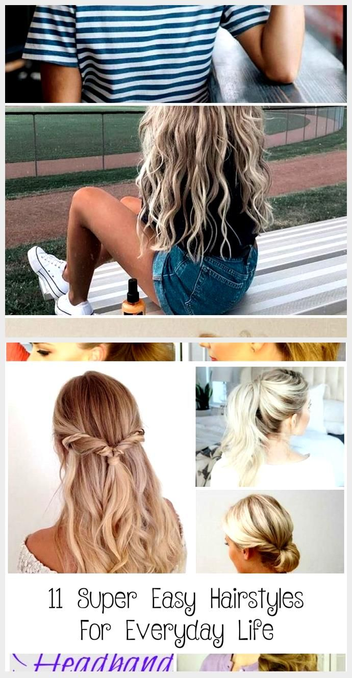 Beautiful Hairstyle For Many Kinds Of Haircuts Hair Styles In 2020 Hair Styles Kinds Of Haircut Easy Everyday Hairstyles