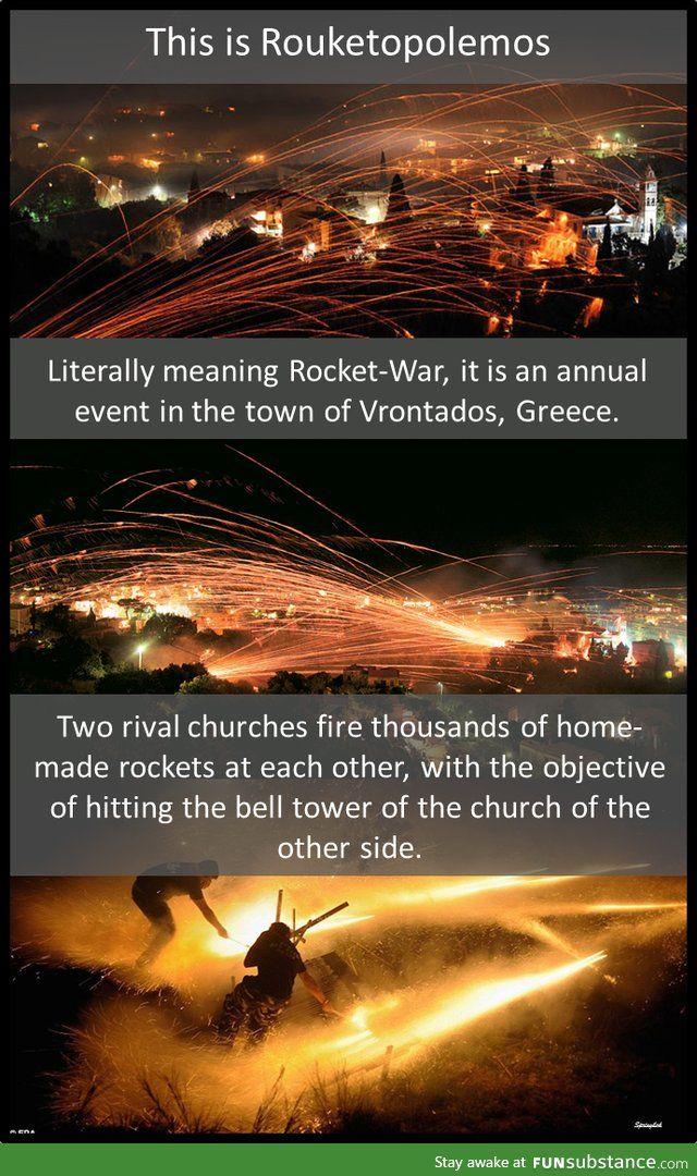 Rouketopolemos - Rocket War in Greece
