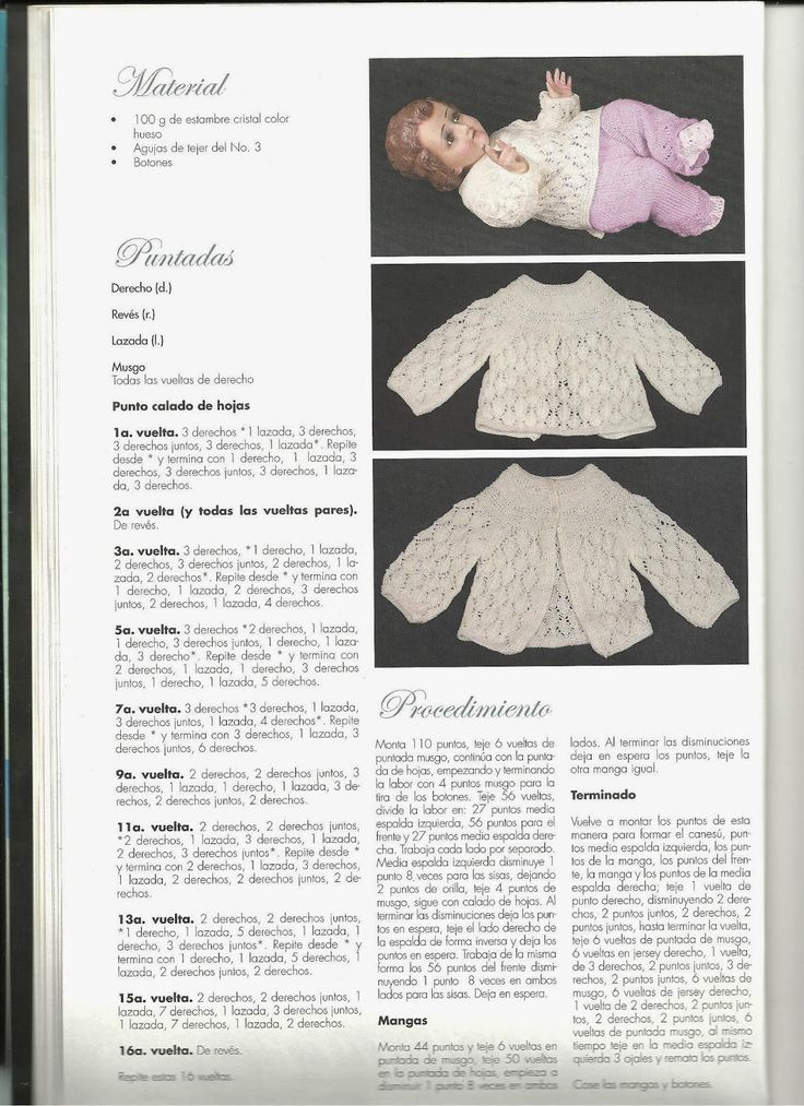 34 best Vedtido Nino Dios 2 images on Pinterest | Crochet baby ...