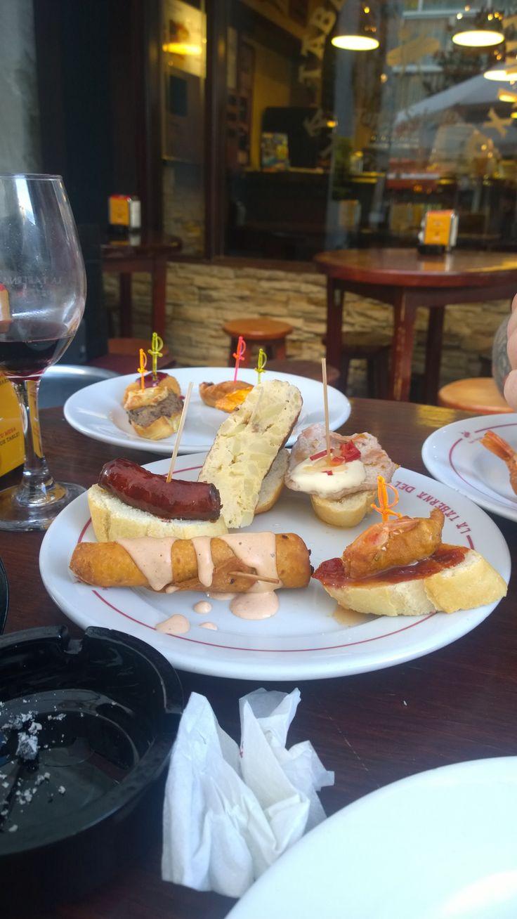 Tapas at Taberna del pinxto Marbella
