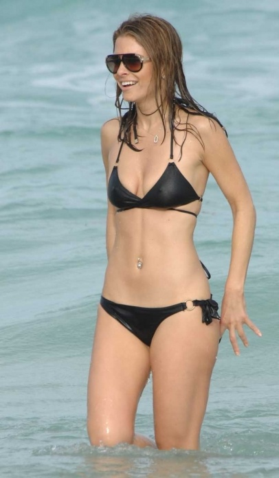 Maria Menounos was seen on the beach in Miami. She had a ... Freida Pinto Dating