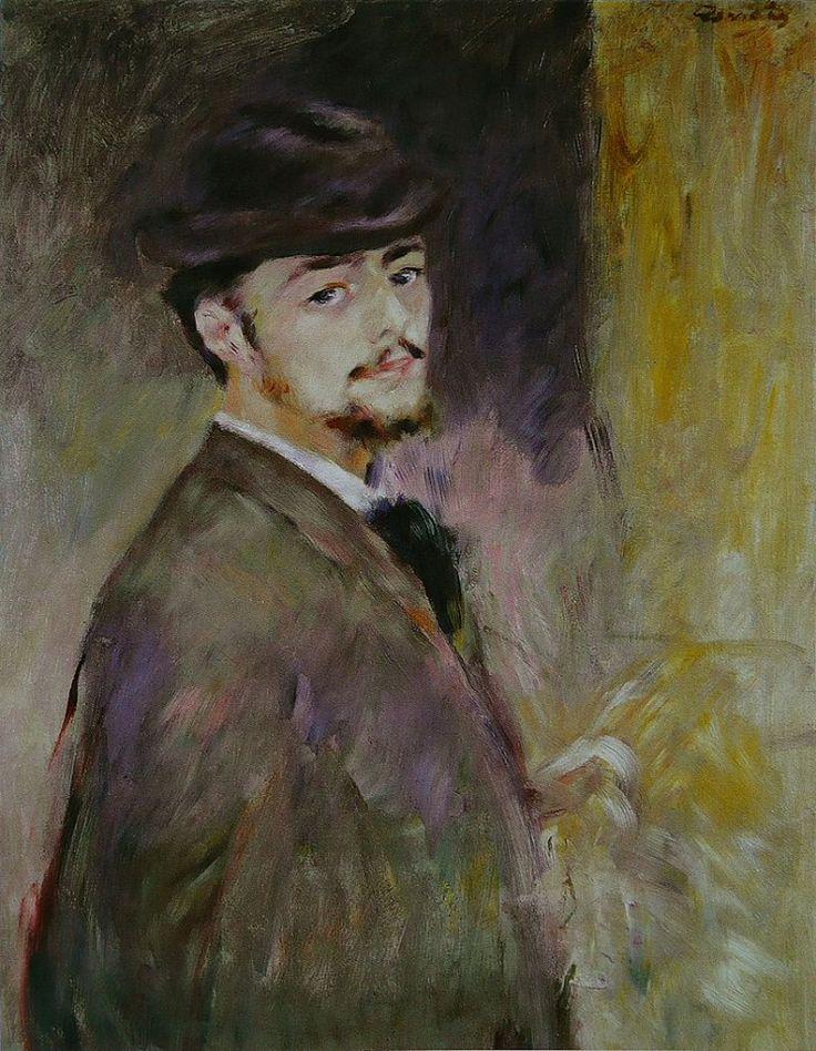 Pierre-Auguste Renoir Autoritratto (1876) Oil on Canvas
