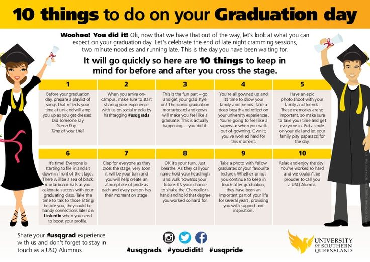 things to do after graduation