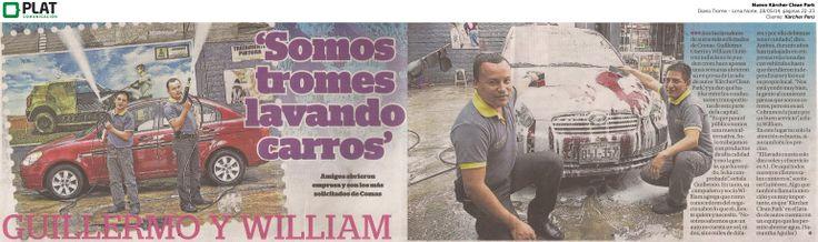 Kärcher: Nuevo Clean Park en el diario Trome de Perú (28/05/14)