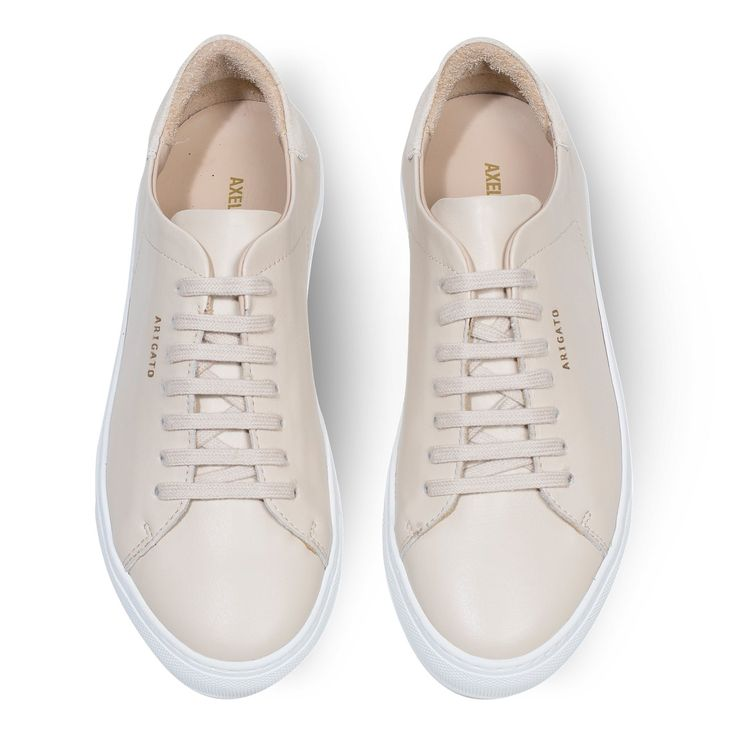 Clean 90 Sneaker - Sand leather with white sole by Axel Arigato