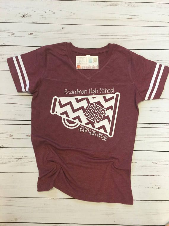 Cheerleading Shirt, School Spirit Shirt, Cheer Shirt, Cheer Mom, Teacher Shirt, Pride Shirt, Football Mom Shirt, Personalized Shirt
