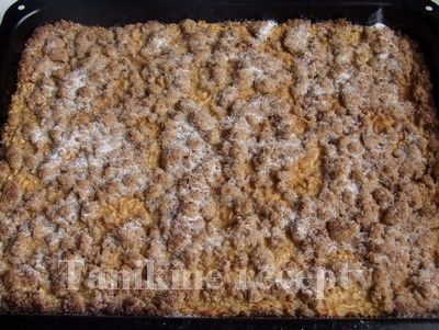 Celozrnný jablkový koláč :: Recepty