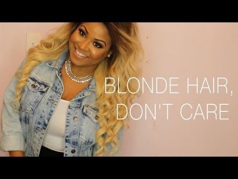 Blonde Hair, Don't Care! :)