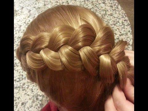 Saç Modeli 9 - Yandan örgülü saç modeli, Braided hairstyle / Fermoon