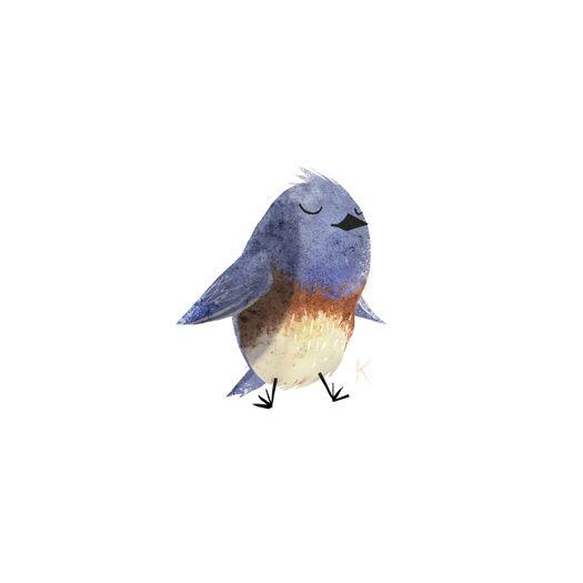 I LOOOOVE these bird illustrations by Kenard W Pak