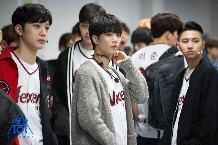 Lai Kuan Lin (라이관린), Kim Jonghyun (김종현) aka JR of Nu'est and Kim Sangbeen (김상빈)