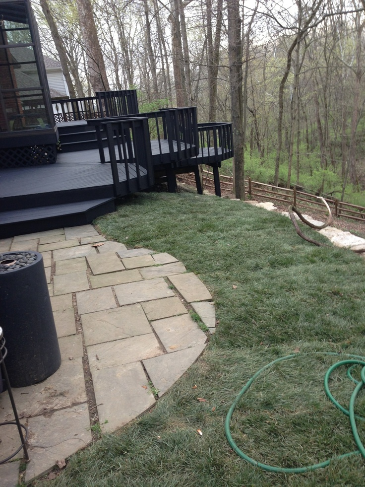 Best 25 Stained Decks Ideas On Pinterest Outdoor Wood Stain Patio Pictures And Patio Ideas