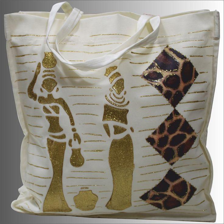 """""""Afrika Rüzgarı"""" İsimli Kumaş Çanta Çalışması http://www.artebella.com.tr/artebella-kumas-setleri   'nde"""