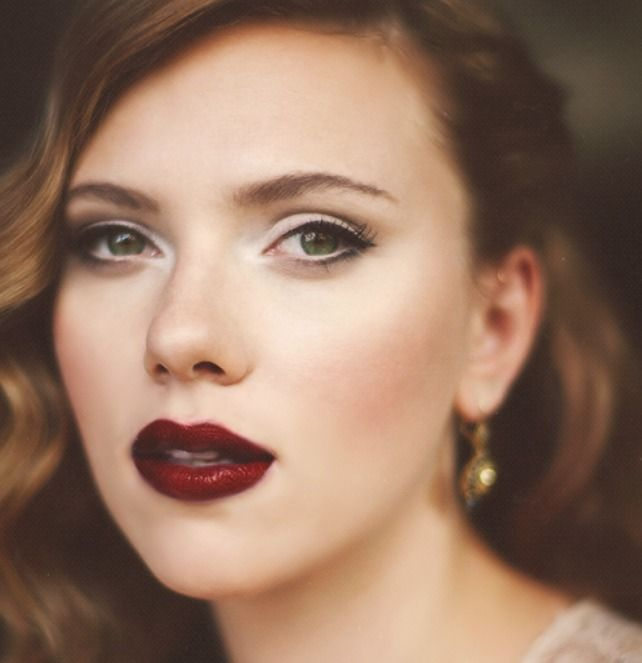The perfect vampy lip.