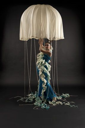 Im thinking an ocean party, these as huge diy jellyfish...
