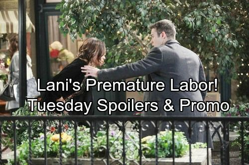 Days of Our Lives Spoilers: Tuesday, March 6 – Lani's Medical Crisis Threatens Baby – Brady's Marriage Maneuver | Celeb Dirty Laundry