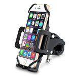 [Support Vélo du Guidon] VicTsing Support Universel Téléphone Rotatif à 360 Bracelet en Caoutchouc Taille Réglable Compatible avec iPhone…