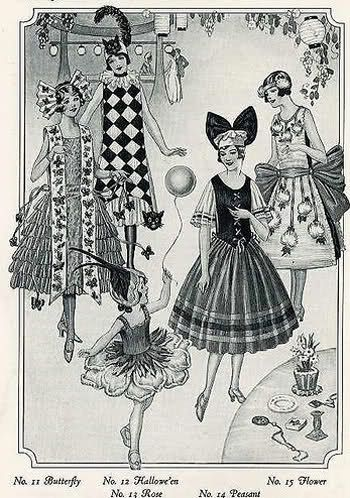 halloween 1920s | Vintage Halloween Costumes from the 1920s