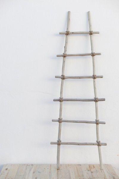 Fruit Pickers Ladder, www.at-life.co.za #theatLIFEbrand  #decor #interiordecorating #ecofurniture #greenfurniture #recycled furniture #rusticdecor #rusticinteriors