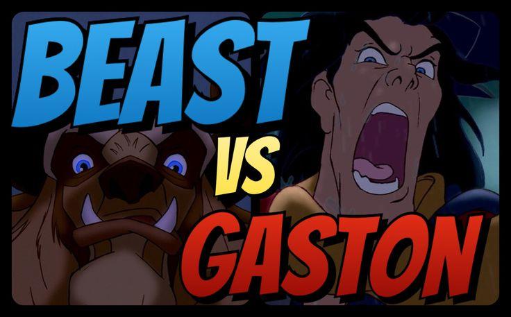 Disney Showdowns: The Beast VS Gaston.   #Disney #DisneyShowdowns #TheBeast #PrinceAdam #DisneyMovieReview #BATB #BeautyAndTheBeast #MovieReviews #DisneyDiscussion #DisneyMovie #LoveTriangle #DisneyVillain #DisneyHeroes #DisneyPrincess #PrincessBelle #BelleBeast #BeastVSgaston