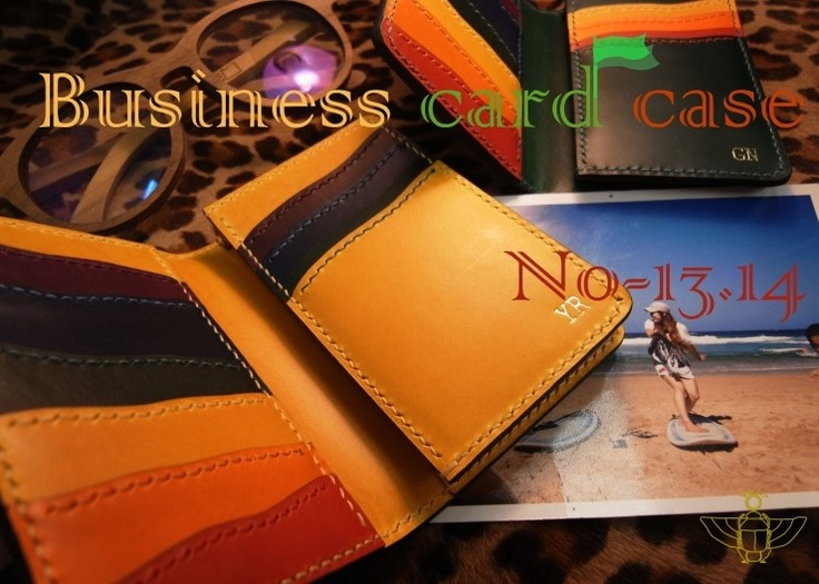 Business Card Case No.13, 14