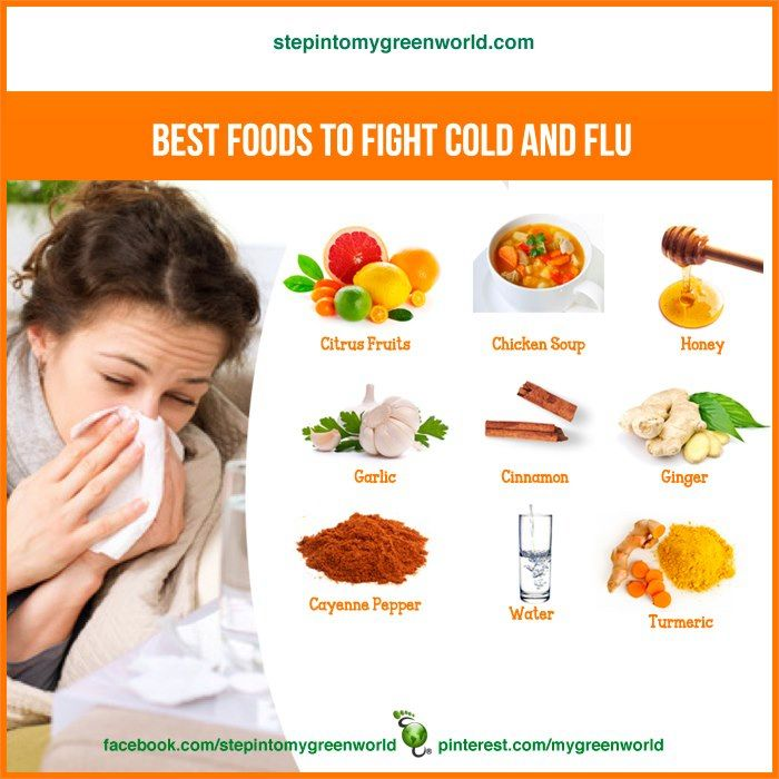 Best Food And Drink For Flue