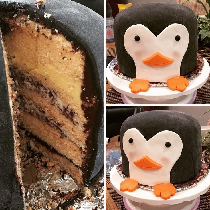 die besten 25 pinguin kuchen ideen auf pinterest pinguin kuchendeckel themenbezogene torten. Black Bedroom Furniture Sets. Home Design Ideas