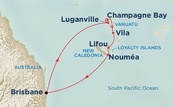 South Pacific & New Zealand Cruise Only special deals on Princess Cruises