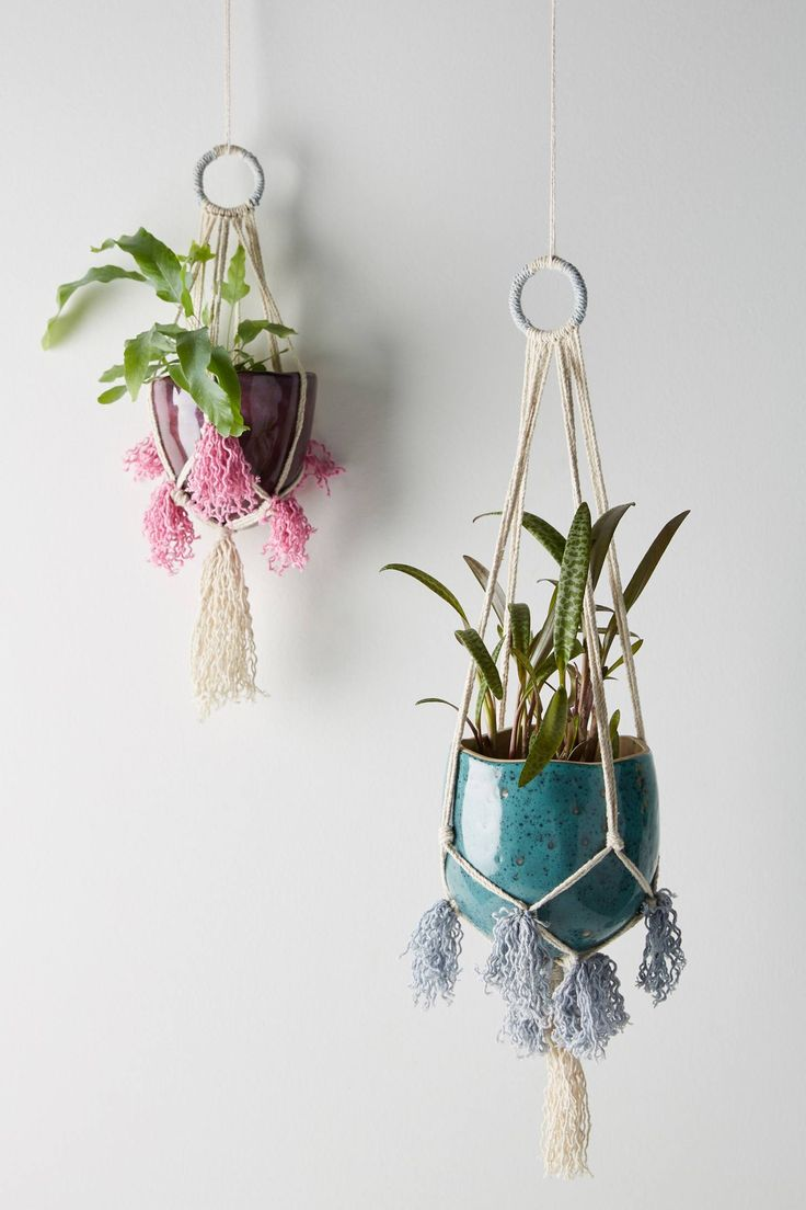Liliana Hanging Pot | Anthropologie