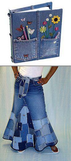 У вас есть старые джинсы? Тогда мы идём к ВАМ! .