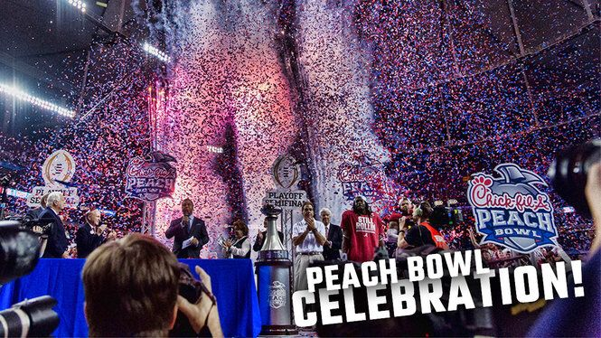 Check out the fun scene as Alabama celebrated in the Georgia Dome