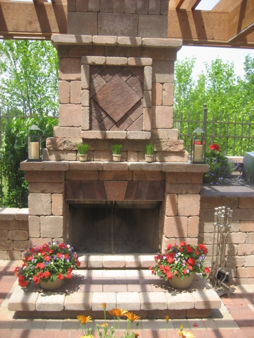 34 best Outdoor Fireplace Inspirations images on Pinterest ...
