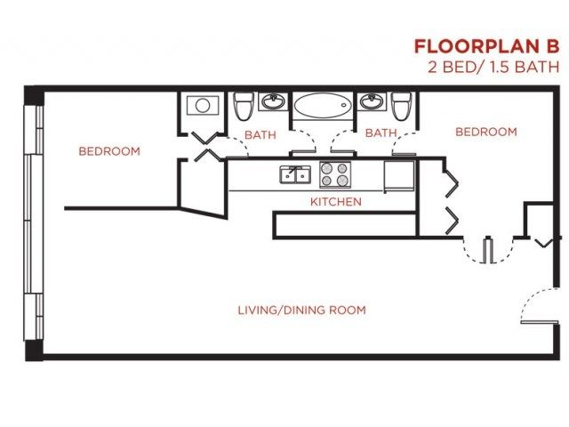 13 Best Floor Plans Of Cobbler Square Loft Apartments In Old Town Chicago Images On Pinterest