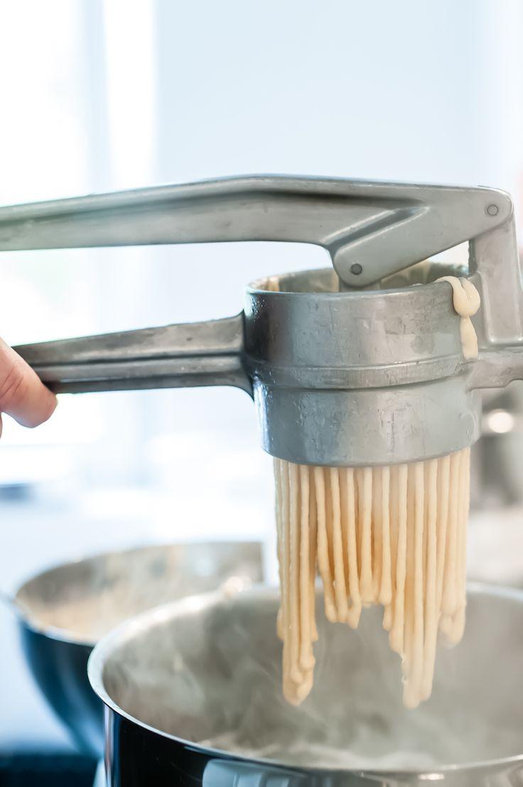 [von und mit: feli] linsen mit spätzle, saitenwürstle und bauchspeck, oder: swabian foodporn