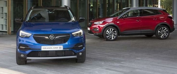 All prices Opel Grand Country X announced