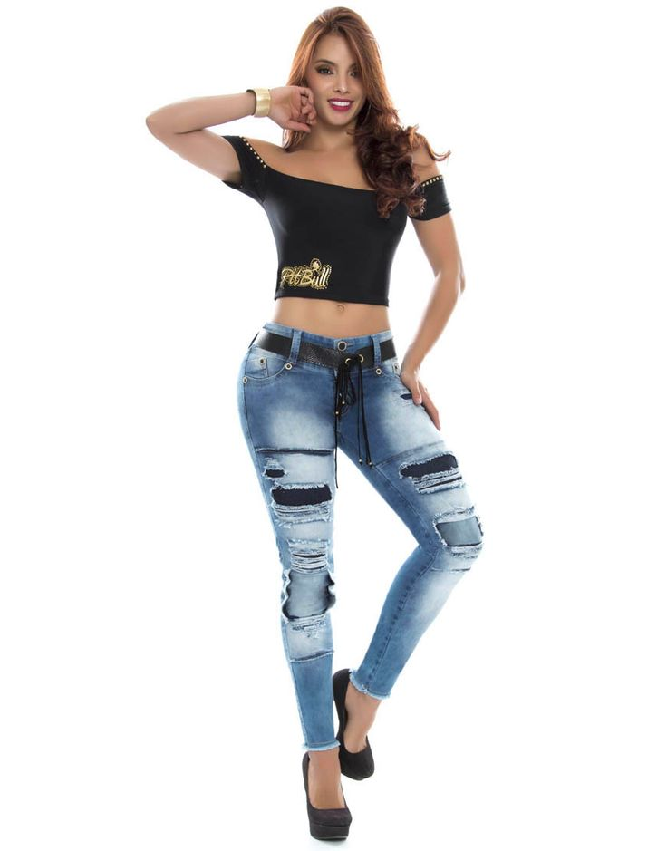 Jean Pitbull PT-6111 Tenemos novedades en jeans pitbull.  Todos los modelos disponibles en: https://jeanspitbull.com/catalogo-de-jeans-colombianos  #pantalones #levantacola #jeans #pushup #modalatina #modamujer #novedades #nuevacolección  #ventasonline #modacolombia #modamedellin #fashion #cool