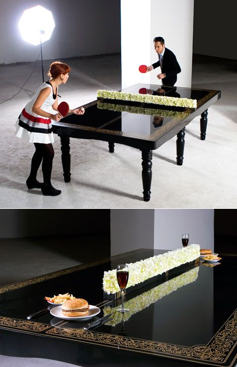 12 best images about ping pong tables on pinterest chalkboard table outdoor and gabriel - Space needed for a ping pong table ...