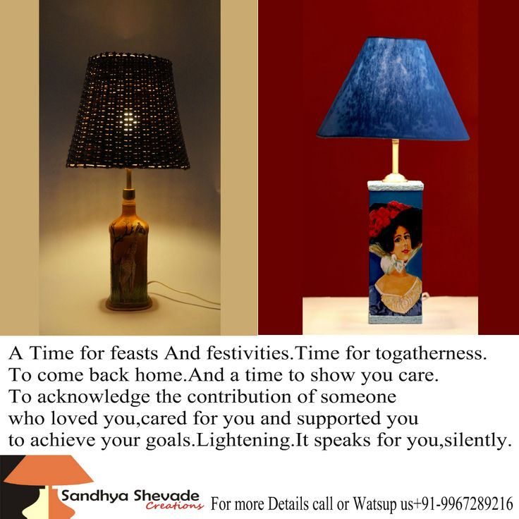 Sandhya Shevade Creations Dedicated to the creation of hand crafted table lamp design ,#lampshades, unique designer lamp shades made for you. Ph No: +91 99672 89216 www.sandhyashevadecreations.com