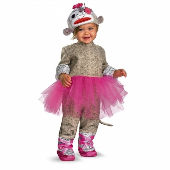 Your little dancing monkey will be doing pirouettes around all the other kids this Halloween in this Sock Monkey Ballerina costume! Description from amazon.com. I searched for this on bing.com/images