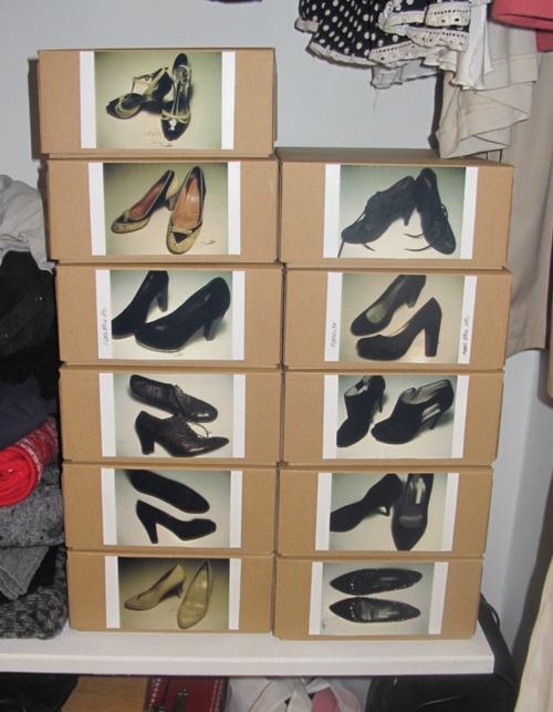 Garderobe opbevaring «