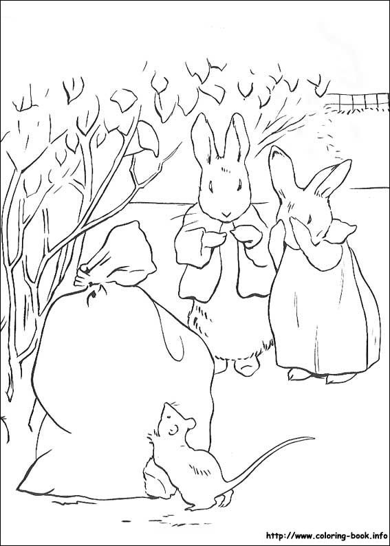 30 best peter rabbit images on Pinterest | Coloring books, Coloring ...