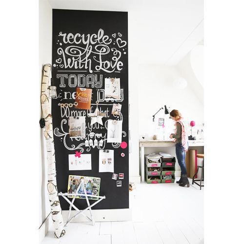 Magnetisch Krijtbord Keuken : bewaren meer informatie op kamer26 nl magneet krijtbordbehang nerak