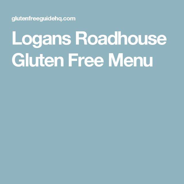 Logans Roadhouse Gluten Free Menu