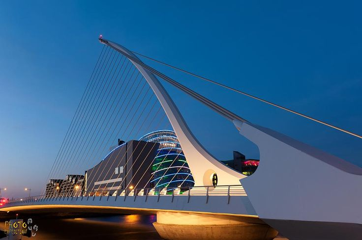 Samuel Beckett brige in Dublin - Мост Бекетта в Дублине