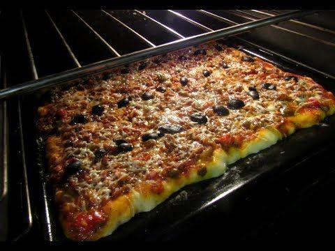 بيتزا ياااسلام👌 الإسفنجية مبهرة بعجين لن تستغني عنه خيآال