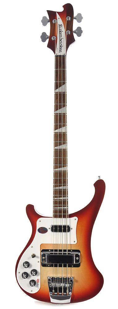 RICKENBACKER 4003 Left-Handed - Fireglo | Chicago Music Exchange